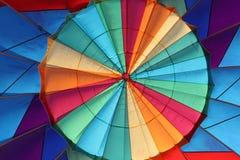 Dentro il pallone Fotografia Stock Libera da Diritti