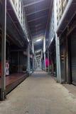 Dentro il pilastro famoso di bao di colpo alla notte, Koh Chang Island tailandese Fotografie Stock