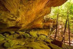 Dentro il sussurro cave fotografia stock libera da diritti