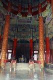 Dentro il tempio del cielo Fotografia Stock