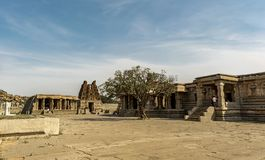 Dentro il tempio di Vitala - Hampi fotografia stock libera da diritti