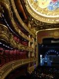 Dentro l'opera Garnier a Parigi fotografia stock libera da diritti