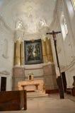 Dentro la basilica di Fatima Fotografie Stock