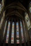 Dentro la cattedrale Fotografia Stock Libera da Diritti