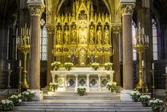 Dentro la cattedrale, Vienna, Austria Fotografie Stock Libere da Diritti