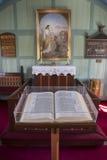 Dentro la chiesa di Thingvellir Fotografia Stock Libera da Diritti