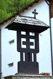 Dentro la chiesa ortodossa in Tusnad, la Transilvania Fotografie Stock Libere da Diritti