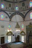 Dentro la moschea Fotografie Stock