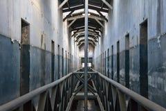 Dentro la vecchia prigione di Ushuaia Fotografie Stock