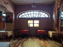 Dentro la vista dell'HOTEL Addis Ababa di TAITU, l'Etiopia fotografia stock libera da diritti