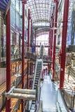 Dentro lo Zeilgalerie a Francoforte Fotografia Stock Libera da Diritti
