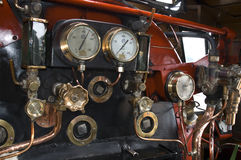 Dentro un motore a vapore Fotografia Stock Libera da Diritti