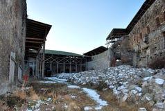 Dentro una costruzione della fortezza Fotografia Stock Libera da Diritti