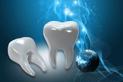 Dents Photo stock