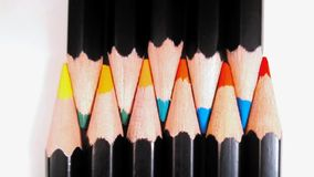 Dents de crayon Photos libres de droits