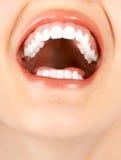 Dents de femme photos libres de droits