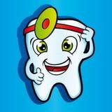 Dents de sourire saines dans la clinique dentaire illustration libre de droits