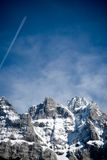 Dents du Midi Royalty Free Stock Images