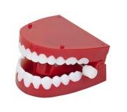 Dents fausses de vibration photographie stock