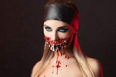 Dents Halloween photo stock