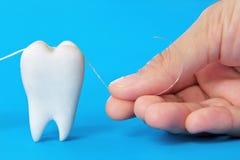 Dents nettoyant le concept Images libres de droits