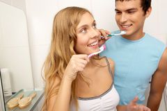 Dents saines photographie stock