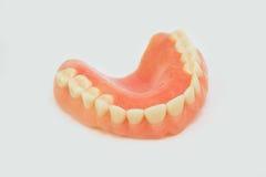 Dentures i korony Zdjęcie Stock