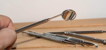 Dentystów narzędzia Obrazy Stock