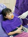 Dentysta, asystent i my zdjęcie royalty free