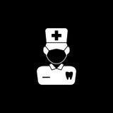 Dentysta bryły ikona Zdjęcie Royalty Free