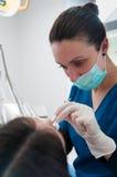 dentysta praca Obrazy Stock