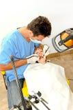 dentysta procedura fotografia royalty free