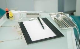 Dentysty biuro sprzętu dentystycznego Zdjęcie Stock