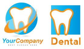 Dentysty logo Zdjęcie Royalty Free