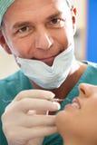 dentysty pacjent Zdjęcie Stock