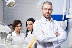 dentysty pomocniczy pacjent Obrazy Stock