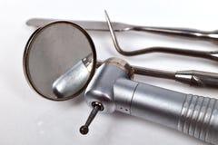 Dentysty sprzętu medycznego narzędzia Fotografia Stock