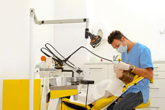dentysty wnętrza biuro Zdjęcia Royalty Free