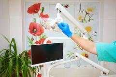 Dentystyka, stomatologiczny traktowanie fotografia royalty free