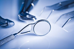 Dentystyki wyposażenie i stomatologiczna opieka zdrowotna Fotografia Stock