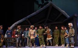 """Denunci l'opera diraduno-Pechino che """"Taking il  del € di Tiger Montain By Strategyâ Fotografia Stock Libera da Diritti"""