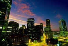 Denver 002 linia horyzontu Obrazy Stock