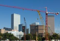 Denver in aanbouw Stock Foto's