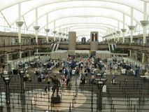Denver Airport Royaltyfria Bilder