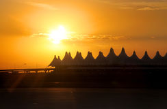 Denver Airport Lizenzfreies Stockbild