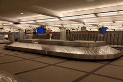 Denver airport baggage claim area. Stock Image