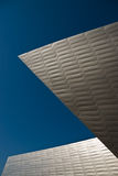 Denver Art Museum. Sharp angles of a modern metal building Stock Photo