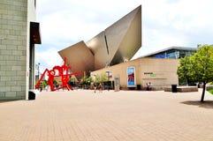 Denver Art Museum (DAM) en Colorado Imagen de archivo libre de regalías
