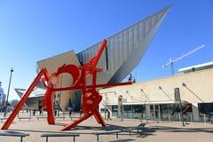 Denver Art Museum in Denver Colorado Stockfotos