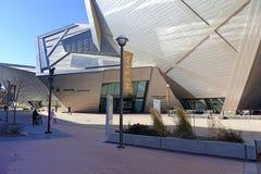 Denver Art Museum in Denver Colorado Lizenzfreies Stockfoto